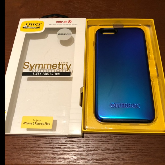 more photos fbad3 d47d2 Iridescent blue Otterbox symmetry iPhone 6/6S plus NWT